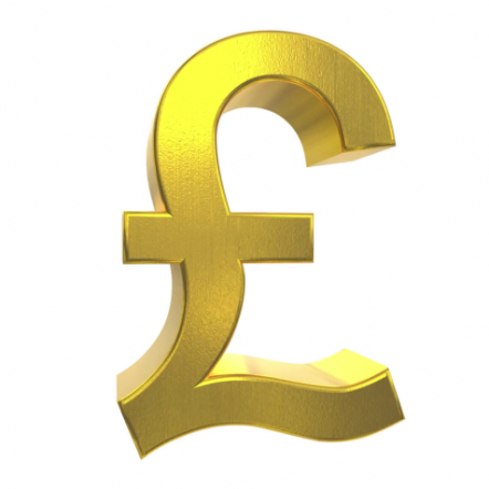 The pound sign currency